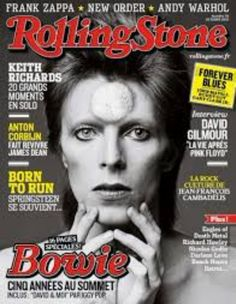 Daft Punk, Rolling Stone Magazine Cover, Book And Magazine, Magazine Covers, Eagles Of Death Metal, Newspaper Front Pages, Gary Clark, Mick Ronson, David Bowie Ziggy