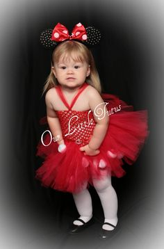 Minnie Mouse...@Kayla mcmullin for our little potatoe!!!!!