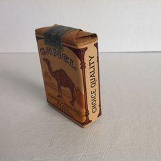 VINTAGE PACK 20 CIGARETTE CAMEL SEALED | eBay