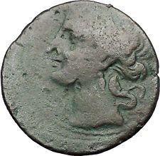 CARTHAGE ZEUGITANA 201BC Tanit Horse LARGE 3 Shekels Ancient Greek Coin i56301