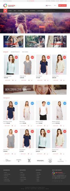 SAHARA - Fashion 9 - Ultimate Responsive Magento Themes