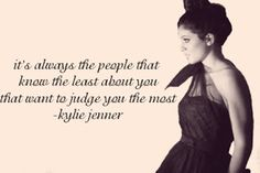 Kylie Jenner : What makes Kylie Jenner quotes so great? Boss Quotes, Me Quotes, Qoutes, Kylie Jenner Quotes, Kardashian Quotes, Cute Captions, Senior Quotes, Celebration Quotes, Word Up