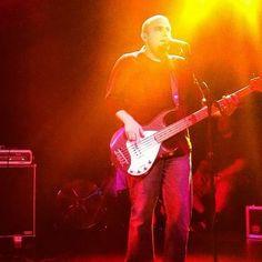 dan rocking the bass at the roxy 7-8-12