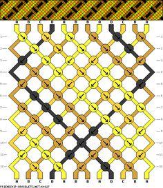 12 strings 12 rows 4 colors