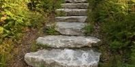 How to Build Fieldstone Steps Into a Hill