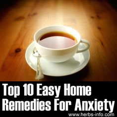 Easy Home Remedies for Anxiety