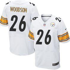 e7f65d05791 Rod Woodson Men s Elite White Jersey  Nike NFL Pittsburgh Steelers Road  26  Jason Witten