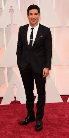 Academy Awards 2015 Red Carpet Arrivals - Mario Lopez from #InStyle