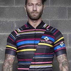 Crazy linee jersey - Bike Inside Cyling Wear - Maglie