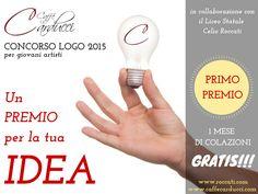 #unopremioperunidea Concorso Logo Caffè Carducci 2015