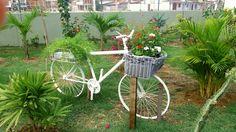 Jardim da vila simplesmente bonito