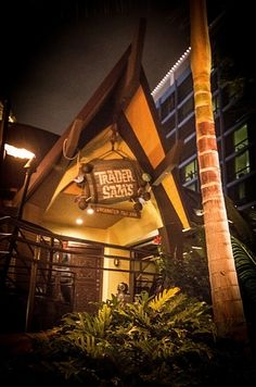 Trader Sam's Enchanted Tiki Room at the Disneyland Hotel | Your Guide To Getting Drunk At Disney California Adventure