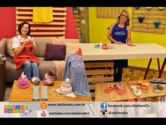 Ateliê na TV - Rede Brasil - 10.05.16 - Claudia Maria e Andreia Bassan