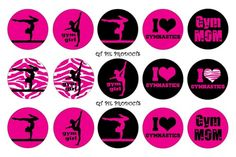 http://www.artfire.com/ext/shop/product_view/qtpieproducts/5955317/cute_hot_pink_gymnastics_gym_girl_bottle_cap_images_1_inch_circle/design/digital_art_/altered_images