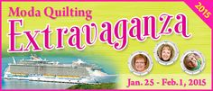 What exactly IS a Quilt Cruise? I share all! http://blog.patsloan.com/2014/02/pat-sloan-so-what-exactly-is-a-quilting-cruise.html