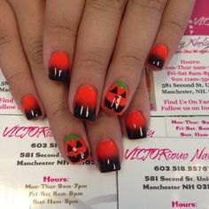 Instagram media nailsbyvictor - halloween #nail #nails #nailart