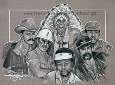 """This is a quick sketch study I did which features portraits of the original members of the disco group """"The Village People"""" drawn with Graphite pen. The Village People Tom Of Finland, Play That Funky Music, Village People, Bob Hope, Quick Sketch, Hollywood Walk Of Fame, Drawing People, Troops, Stage"""