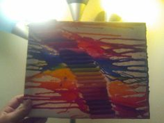my crayon art