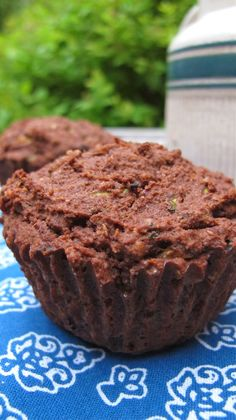 The Can-Do Candida Diet: Chocolate Zucchini Muffins for the Candida Diet: New Year's Revolutions