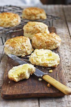 Corn scones