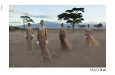 With its spring 2016 runway show inspired by Africa, Valentino designers Maria Grazia Chiuri and Pierpaolo Piccioli staged the new season's campaign in the Amboseli National Park in Kenya. The Italian label tapped Stephen McCurry, a photographer who is most famous for his 'Afghan Girl' National Geographic cover. The full cast of model stars Alice …