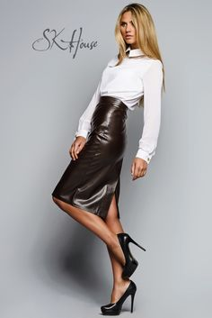leather Skirt SK House Catalogue