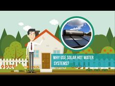 A solar water heater can be a cost-effective way to make use of Australia's abundant solar energy and generate hot water for your home. Plumbing Problems, Solar Water Heater, Problem And Solution, Solar Energy, Save Energy, Mother Nature, Money, Videos, Creative