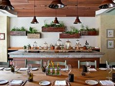 Culinary garden inspired kitchen design