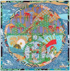 e90738aebc50 Vintage Hermes scarf. Hermes Scarves, Silk Scarves, Scarf Patterns, Pocket  Squares,