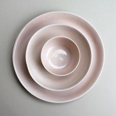 breakfast set in rose