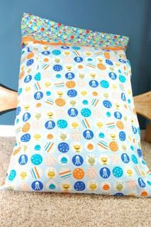 Pillowcase with trim.... busted one of these out tonight for a giftie... :o)  EXCELLENT tutorial!