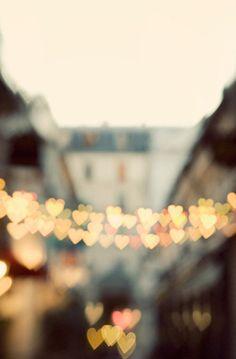 Lovely Clusters - Beautiful Shops: Valentine Print, Heart Art, Paris Photography, Romantic Art