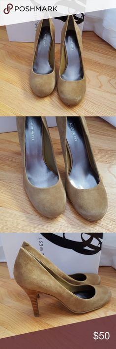 "Nine West pumps NIB Fabulous suede pumps 3.75"" heel Great addition to anyone's wardrobe! Nine West Shoes Heels"