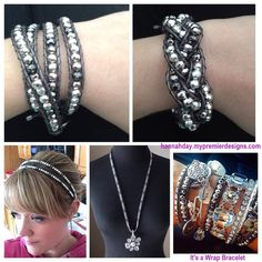 Its a Wrap bracelet from Premier Designs Jewelry.  Very versatile!  hannahday.mypremierdesigns.com