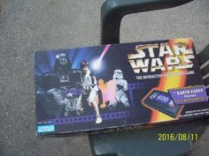 The Last Edition Star Wars Interactive Video Board Game, Featuring Darth Vader F #ParkerBrothers