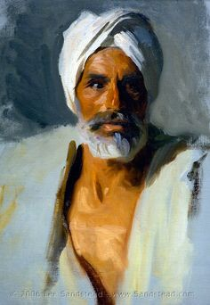 Head of an Arab, by John Singer Sargent