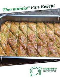 Baklava von stadon. Ein Thermomix ® Rezept aus der Kategorie Backen süß auf www.rezeptwelt.de, der Thermomix ® Community.