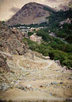 Hiking on the High Atlas Mountain, Morocco