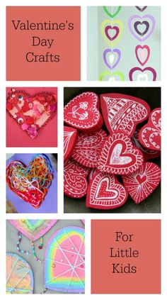Beautiful and Playful Valentine's Day Crafts for Preschoolers and elementary age kids