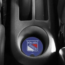 New York Rangers 2-Pack Neoprene Car Coasters - Royal Blue
