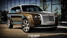 Would You Buy Rolls-Royce's Cullinan SUV If It Looked Like This?