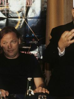 David Gilmour Venice 1989  I can only guess what he is thinking.                                                                                                                                                                                 More