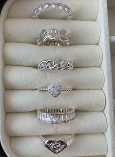 Nail Jewelry, Trendy Jewelry, Cute Jewelry, Jewelry Rings, Jewelery, Silver Jewelry, Jewelry Accessories, Fashion Jewelry, Silver Rings