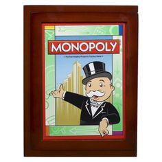 I'm learning all about Monopoly Library Vintage Book Game at Wood Book, Outdoor Play, Vintage Wood, Online Games, Monopoly, Board Games, Baseball Cards, Books, Fictional Characters