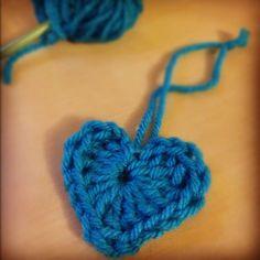 Crochet a Heart Ornament
