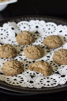 Candida Killing Cinnamon Cookies-these look awesome because I can picture them tasting great without ANY sweetener. I appreciate that there is no honey.