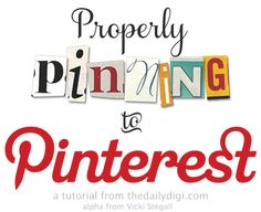 Given all the hoopla over copyrights and Pinterest, I am sharing this great article about pinning the right way.  The best part is that the designer that wrote this article made a little image that can be used on your sites to let people know you are Pinterest friendly.  The image is linked at the end of the article.  Happy pinning!