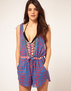 Mara Hoffman beach playsuit