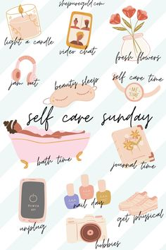 Self Care Sunday Images and Pictures. Self Care Sunday Tips and Posts.   101 Self Care Sunday Tips and Quotes.   #selfcaresundayquotes #selfcaresundaytips Body Shop At Home, The Body Shop, Sunday Routine, Bedtime Routine, Self Care Bullet Journal, Vie Motivation, Self Care Activities, Self Improvement Tips, Care Quotes
