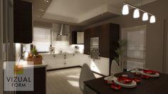 Galeria | Meble kuchenne i projektowanie wnętrz, kuchnie na zamówienie – www.vizualform.pl
